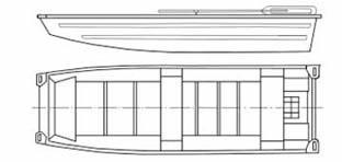 Моторная лодка Казанка-6М